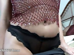Sexy panties and amazing woman in POV movie