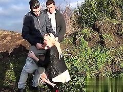 French teen Lana gangbanged - My Affair on CAS-AFFAIR.COM