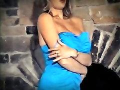 DON&039;T GO- vintage 80&039;s big tits striptease