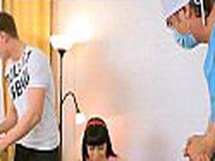 Virgin sweetheart gets lusty examination