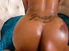 Interracial Hard Sex Tape With Big Black Ass Girl Lessy Devoe video-19