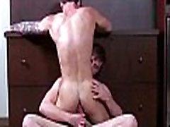 Sexy gay machos have anal fun