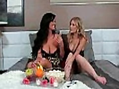 Brianna Ray &amp Sammy Brooks Mature Lesbians Kissing And Licking Each Other video-27