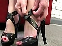 Black Meat White Feet - Foot Fetish Interracial XXX Video 26