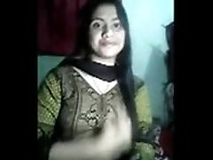 Cute indian school girl undressing showing boobs and pussy to bf