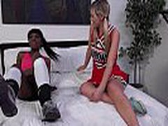 Zebra Girls - Interracial Anal Strapon Sex Video With Strapon Toy 03