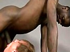 Blacks On Boys - Bareback Interracial Hardcore Gay Fuck Video 15