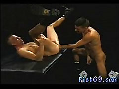 Old men fisting each other gay first time Club Inferno&039s own