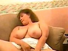 Busty Mature Lady Masturbation on Webcam - AdultWebcams.club