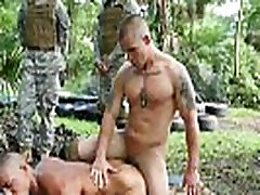Gay male movies soldiers Jungle bang fest