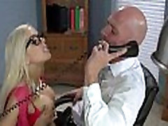 Big titted office MILF fucks at work 25