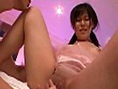 Horny bitch penis licking scene