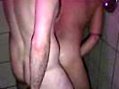 Breeding bear rimming ass in a gay sauna
