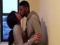 korean student kissing her first black guy while boyfriend films