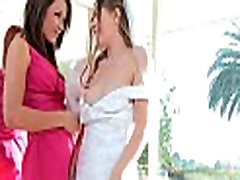 Bright orgasms during lesbo sex