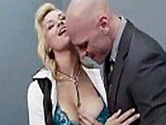 Superb Woker Girl sarah vandella With Big Tits Get Hard Sex In Office clip-27