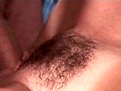 Big hairy pussy babe gets hard fucked in pussy deep 10