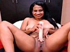 OMG!!!! Hot ebony squirting on camera-x69cams.net