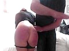 Hard Spanking on Webcam