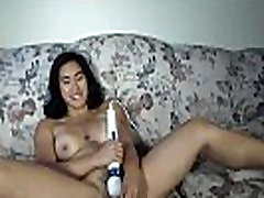 athletic asian girl with round tits