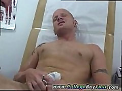 Dude medical exam nude and boy fucks during physical gay first time
