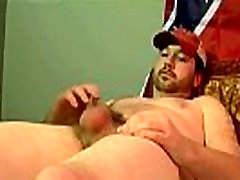 Gay rimming porn movies Brian produces a supreme splooging jizz load,
