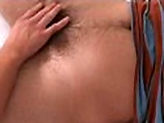 Gay with big balls fucks butt