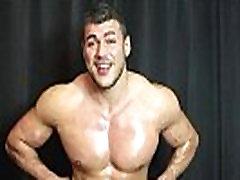 Cum Covered Sweaty Muscle Hunk