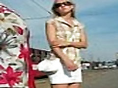 Upskirt Frontal White Panties
