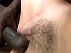 Busty Blonde Fucks and Sucks a Huge Black Monster Cock 1