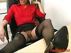 Mature in Pantyhose In Pantyhose Porn Video f4-Pantyhose4u.net