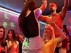 Frisky teenies get completely insane and naked at hardcore party
