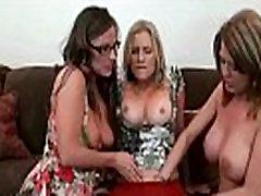 Mature Lesbians Brianna Ray &amp Kristen Cameron &amp Grace Playing On Camera vid-13