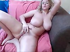 Blonde girl with huge boobs-lolipopcams.com