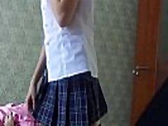 best-creampie-videos.com - HD - Schoolgirl Style Blowjob Cumshot