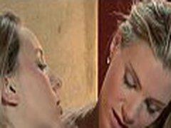 Lesbian babes wrestling