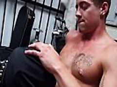 Sexy hairless gay twinks photos Dungeon sir with a gimp