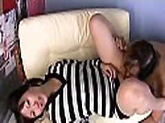 Oriental gets bra buddies squeezed and pussy licked