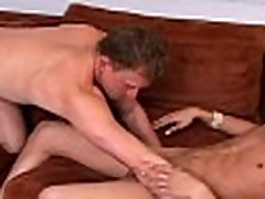 Gay guys jerk off and engulf