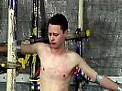 Male swimmers masturbation young twink ebony Sean McKenzie is tied up