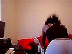 Ebony Girl in Yoga Pants Twerks and Shakes Her Big Ass