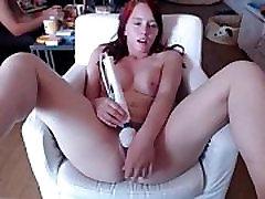 Cam cutie masturbates with a friend in the background - www.fuck-se.xyzlivecam