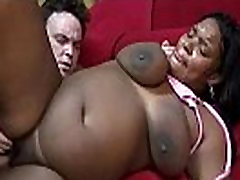 Pregnant ebony begs to be fucked