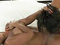 Beautiful milfs in lesbian action