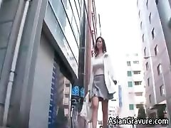 Sexy and horny asian teacher shows her part1