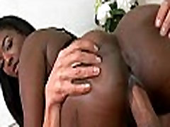 Long-awaited sex with black chick