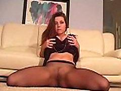 Kinky teaser in hot hose