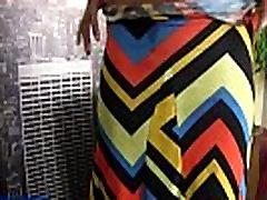 Ebony shemale sprays jizz