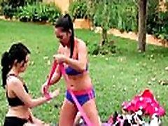 Sensual lesbian massage leads to orgasm 25