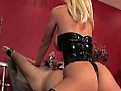 Mistress dominating her pathetic sub